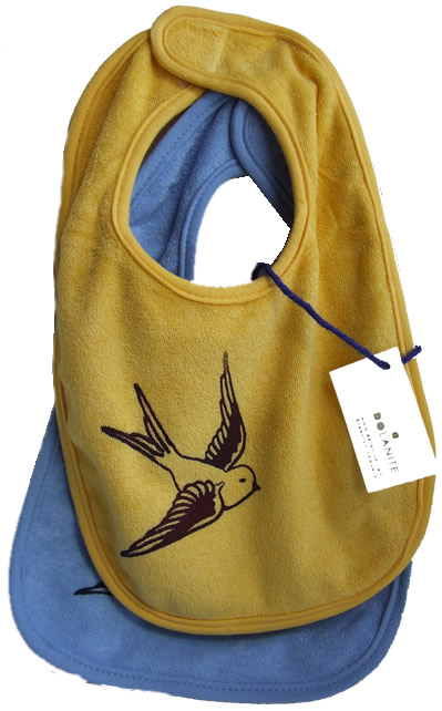 swallow baby bib
